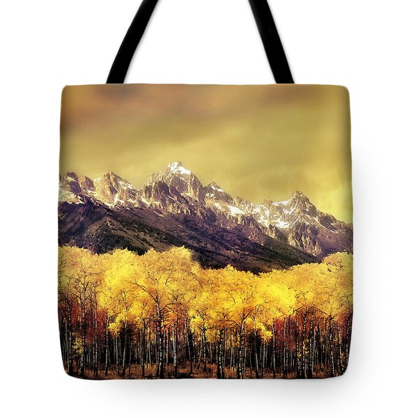 Aspen Grove Jackson Hole Tote Bag