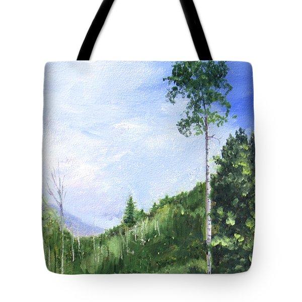 Aspen Heaven Tote Bag