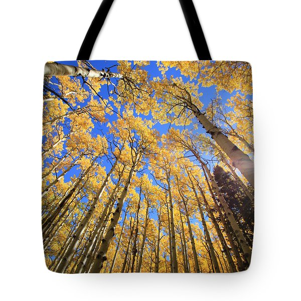 Aspen Hues Tote Bag by Tom Kelly
