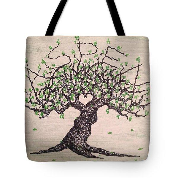 Aspen Love Tree Tote Bag
