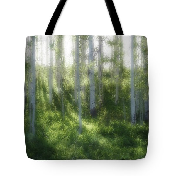 Aspen Morning 2 Tote Bag