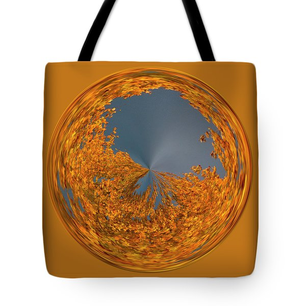Tote Bag featuring the photograph Aspen Orb by Bill Barber