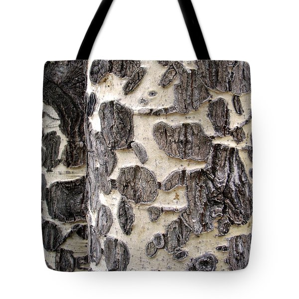 Aspen Scars Tote Bag