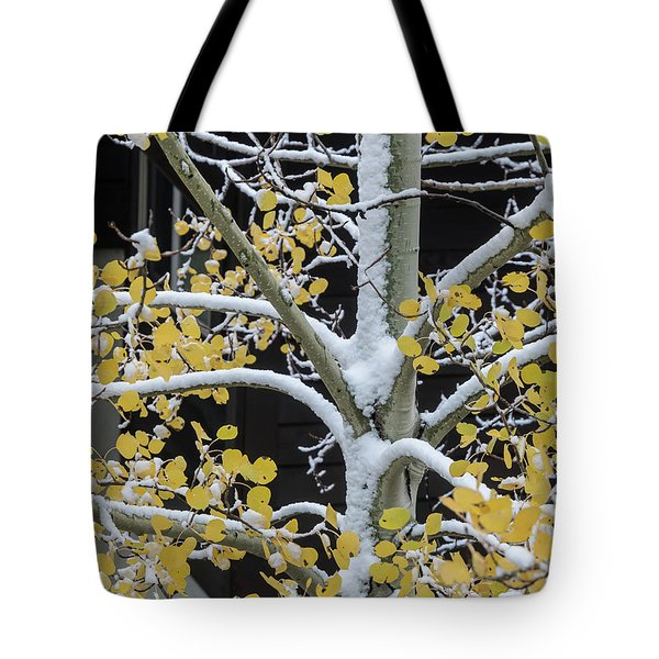 Aspen Snow Tote Bag