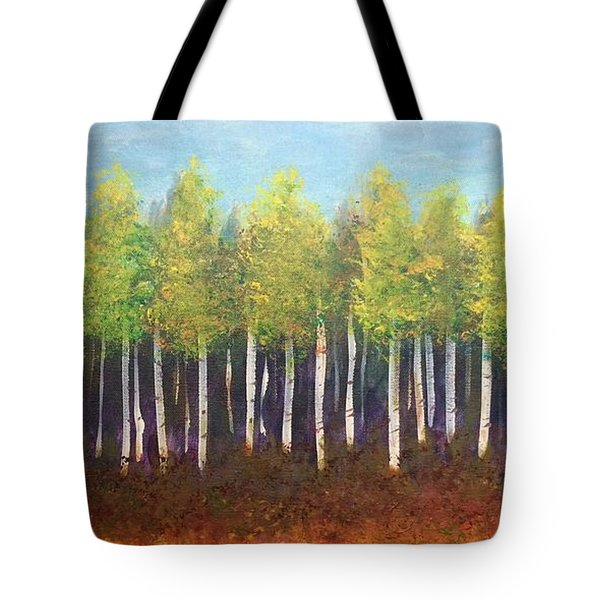 Aspen Song Tote Bag