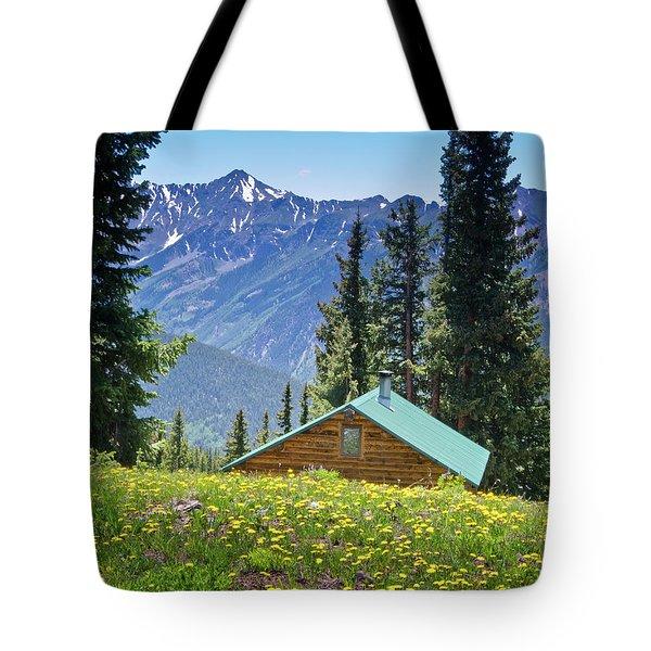 Aspen Spring Tote Bag