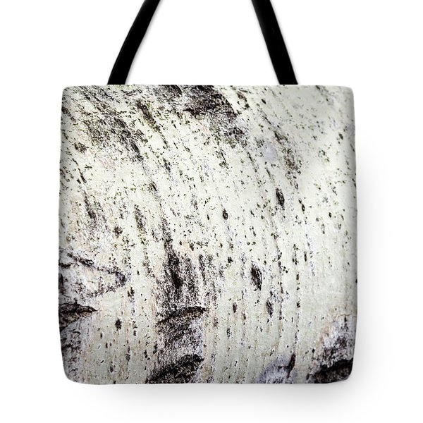 Tote Bag featuring the photograph Aspen Tree Bark by Christina Rollo