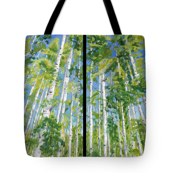 Aspen Twin Perspectives Tote Bag