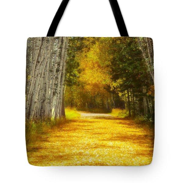 Say You'll Follow Me Tote Bag
