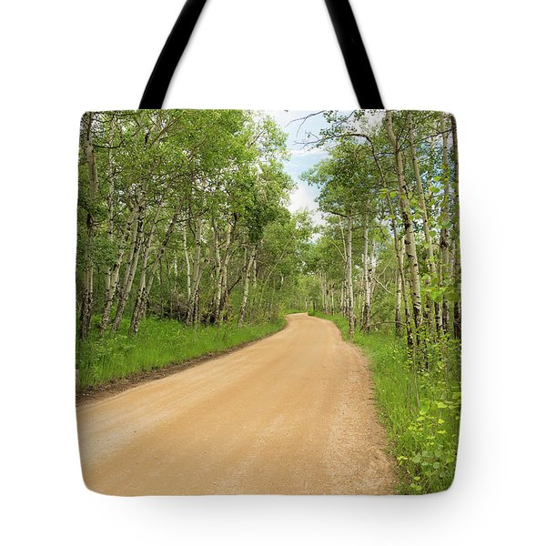 Aspen Way Tote Bag