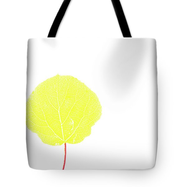 Aspen Yellow Tote Bag
