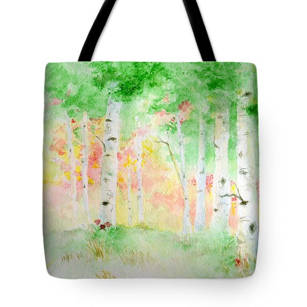 Aspens Tote Bag by Andrew Gillette