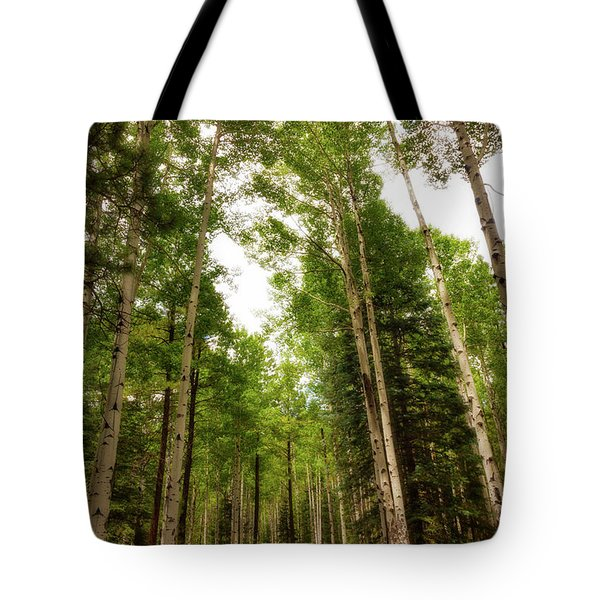 Tote Bag featuring the photograph Aspens Galore by Rick Furmanek