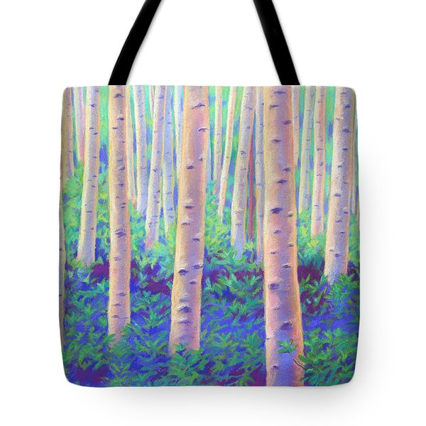 Aspens In Aspen Tote Bag