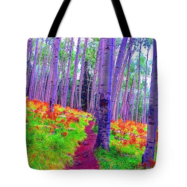 Aspens In Wonderland Tote Bag