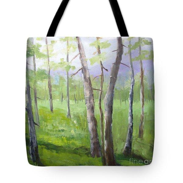 Aspens Soaring Tote Bag