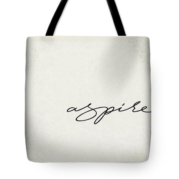 Aspire One Word Series Tote Bag