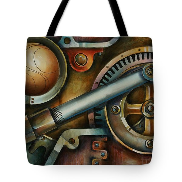 'assembled' Tote Bag by Michael Lang