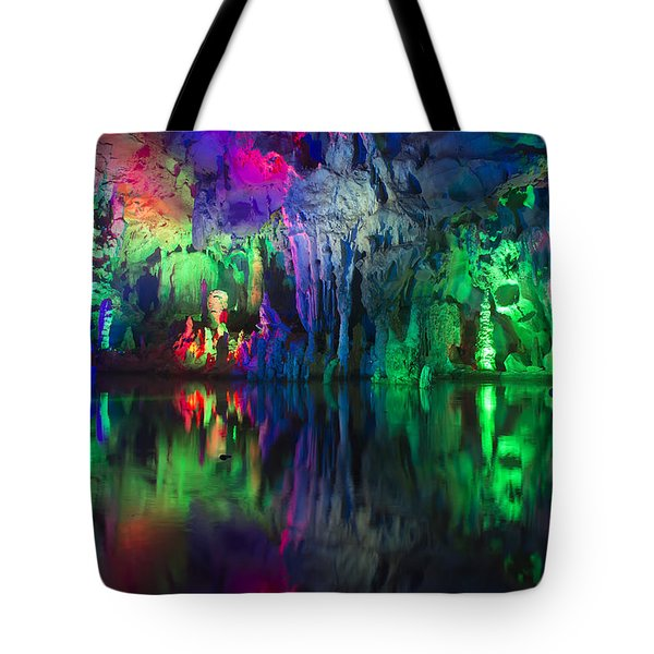 Assembly Dragon Cave Tote Bag