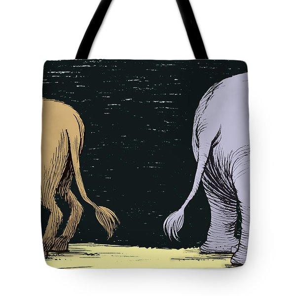 Asses Tote Bag