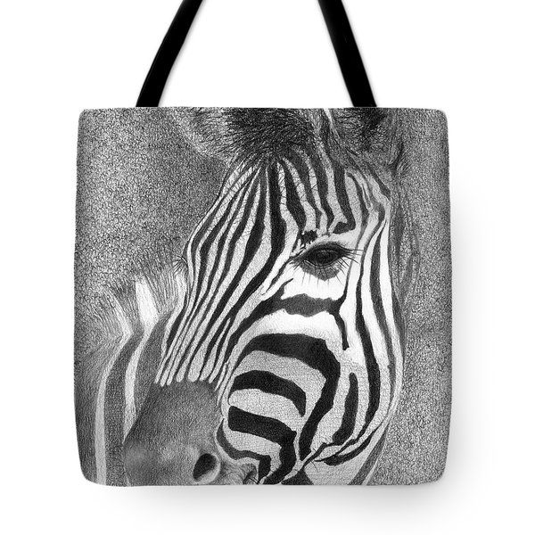 Tote Bag featuring the drawing Assiduous by Phyllis Howard