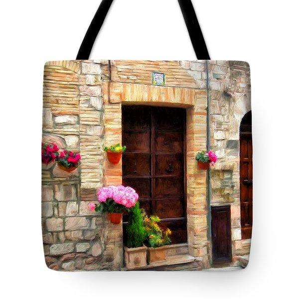 Assisi Doorways Tote Bag