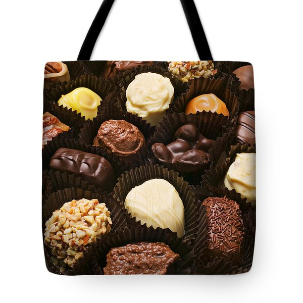 Assorted Candy Tote Bag by Garry Gay