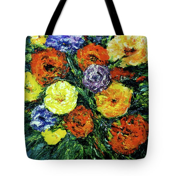 Assorted Flowers #191 Tote Bag by Donald k Hall