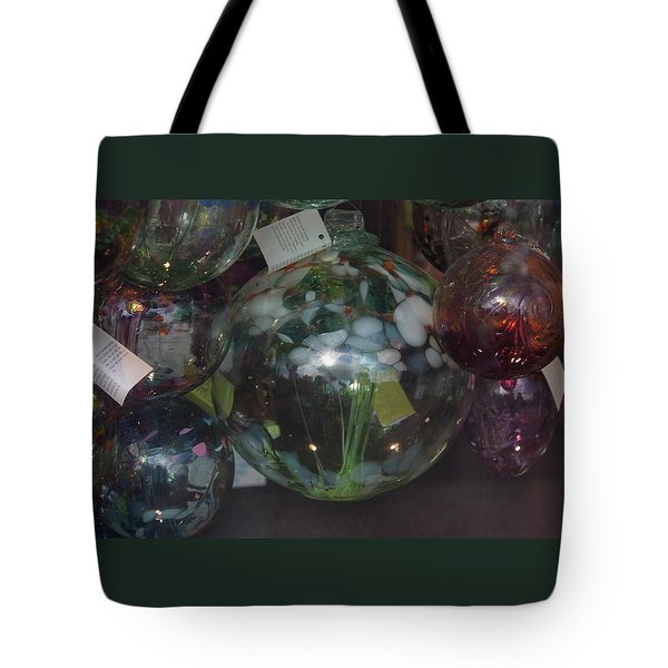 Assorted Witching Balls Tote Bag by Suzanne Gaff