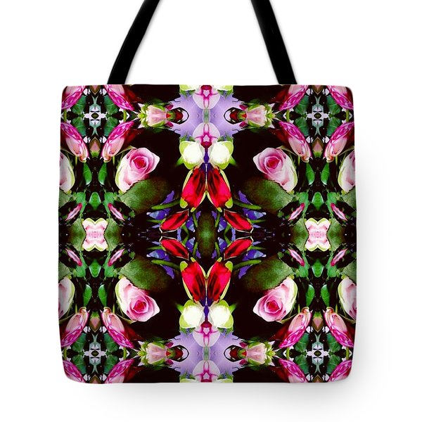 Assortment Of Flower  Tote Bag