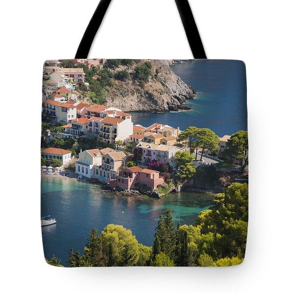 Assos In Greece Tote Bag