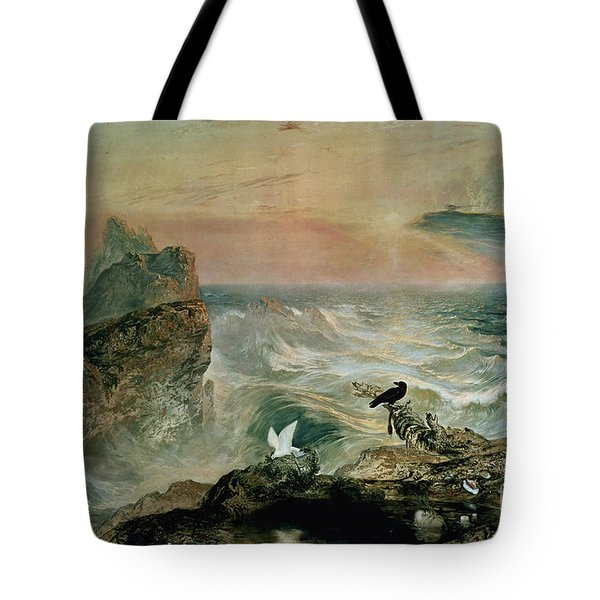 Assuaging Of The Waters Tote Bag by John Martin