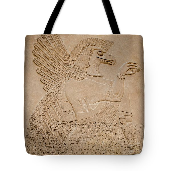Assyrian Guardian Tote Bag
