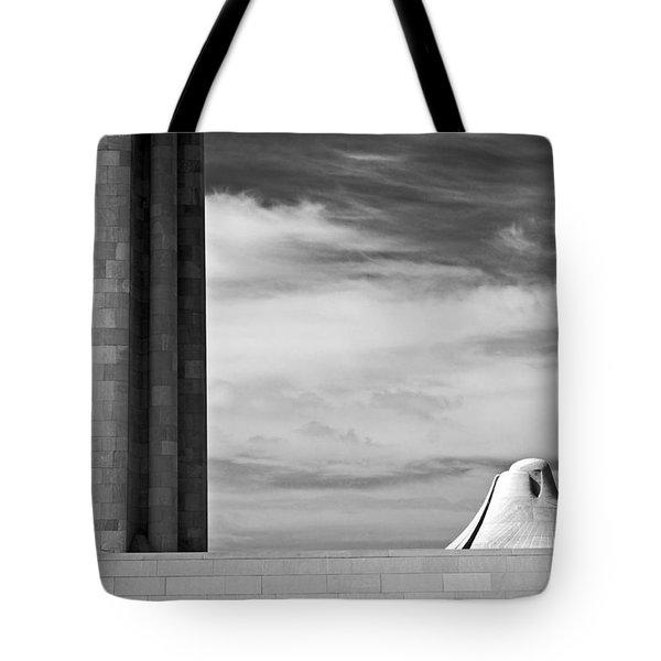 Assyrian Sphynx Tote Bag