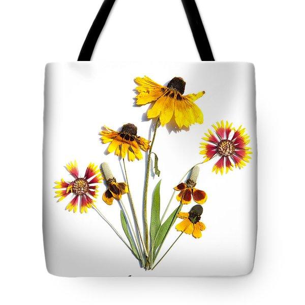 Asteraceae Tote Bag