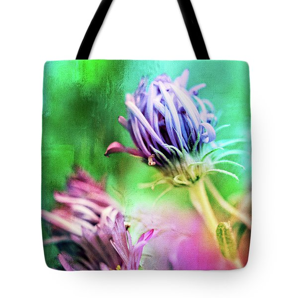 Asters Gone Wild 2 Tote Bag