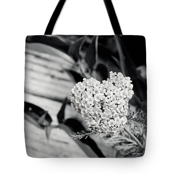 Astilbe Heart Tote Bag