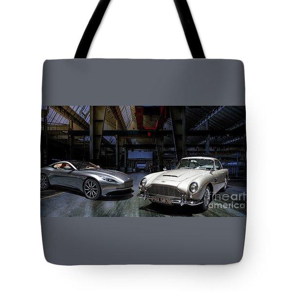 Aston Martin Db5 Db11 Tote Bag