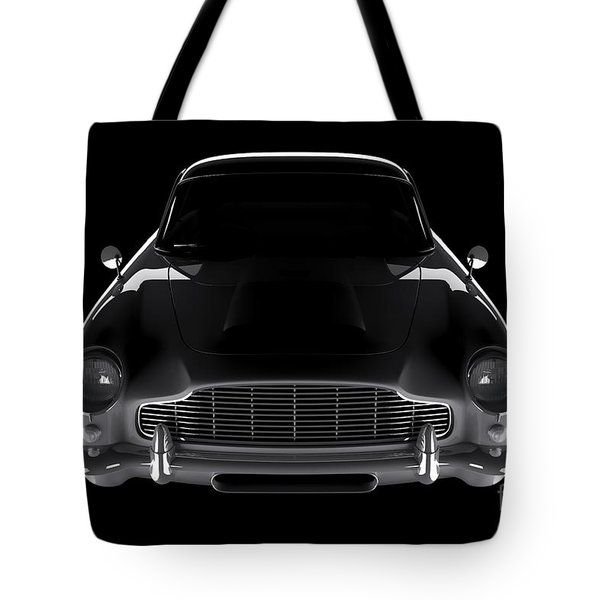 Aston Martin Db5 - Front View Tote Bag