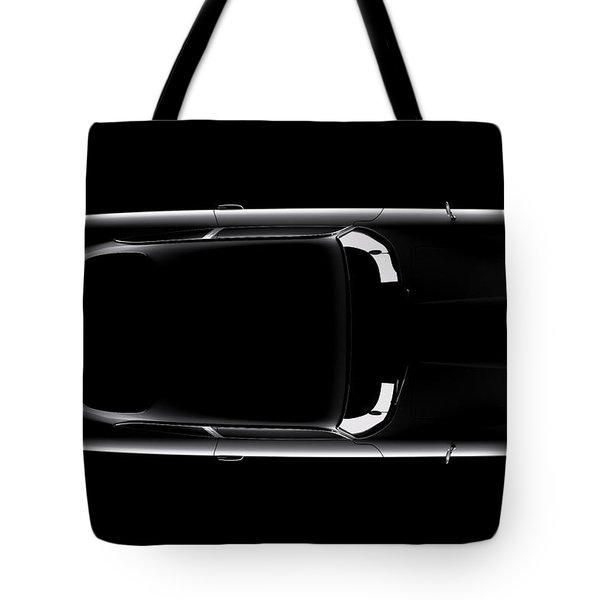 Aston Martin Db5 - Top View Tote Bag