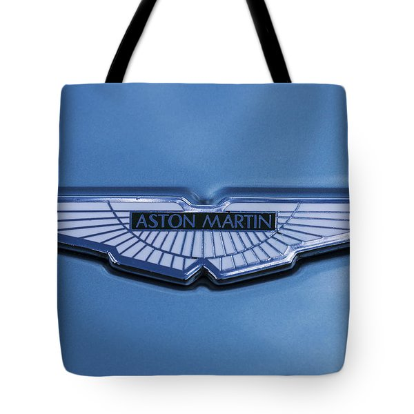 Aston Martin Tote Bag by Scott Carruthers