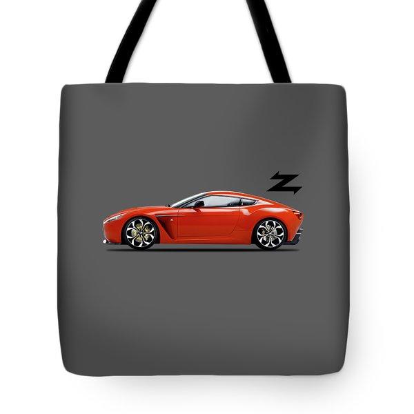 Aston Martin V12 Zagato Tote Bag