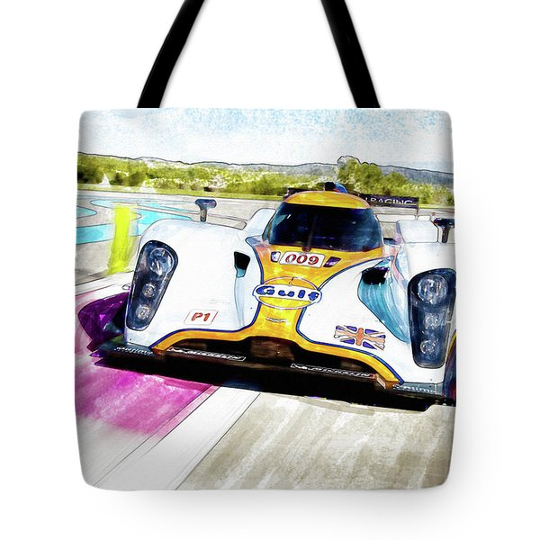 Aston Martin Vantage 009 Tote Bag by Michael Cleere