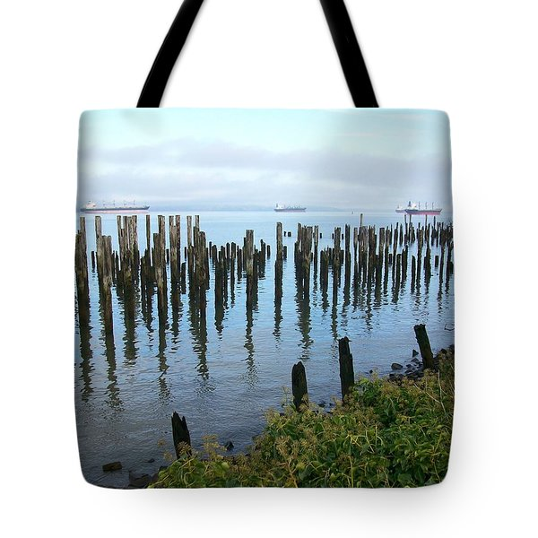 Astoria Ships  Tote Bag