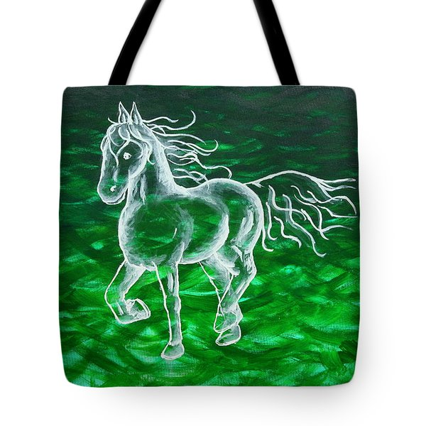 Astral Horse Tote Bag
