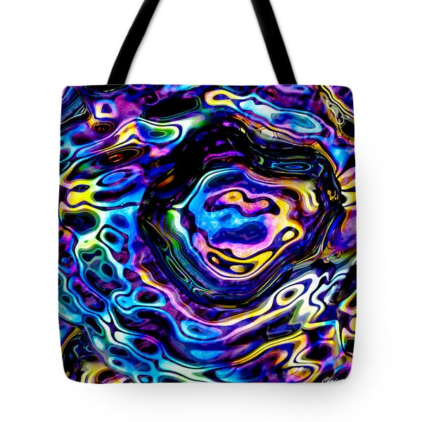 Astral Platter Tote Bag