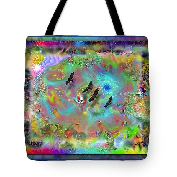 Astral Vision Tote Bag