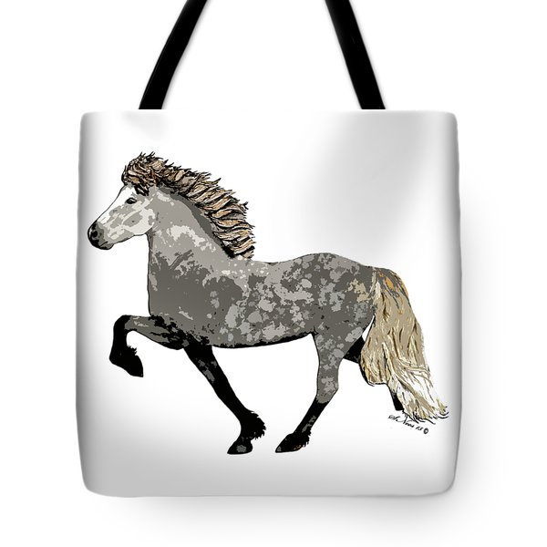 Tote Bag featuring the painting Astrid by Shari Nees