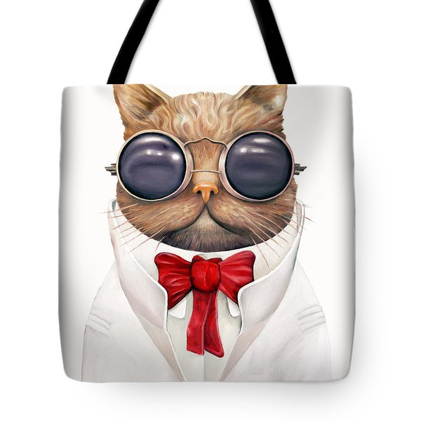 Astro Cat Tote Bag by Animal Crew