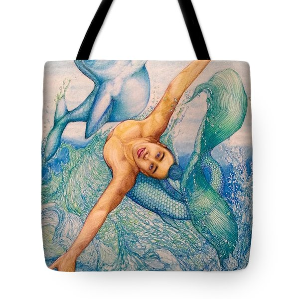 Astrology Zodiac Signs Pisces Tote Bag by Kent Chua